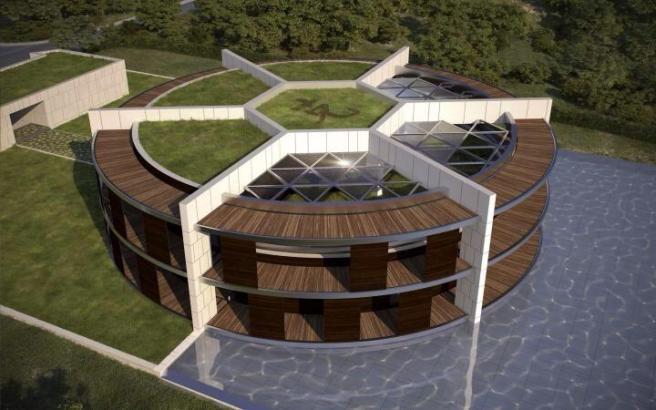 la nuova villa di messi una casa stadio tgcom24. Black Bedroom Furniture Sets. Home Design Ideas