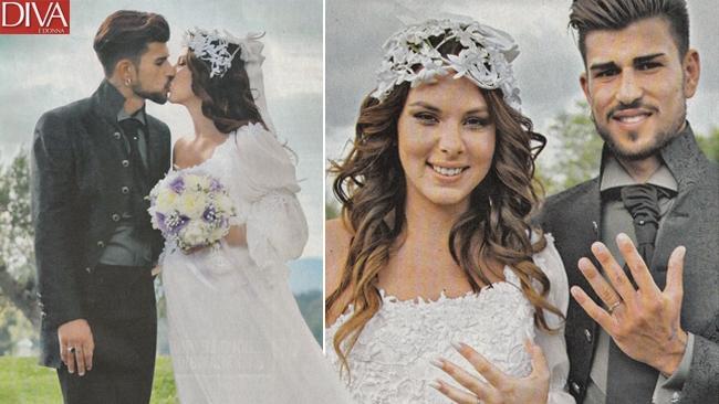 Micol Azzurro Matrimonio : Micol olivieri sposa col pancione tgcom