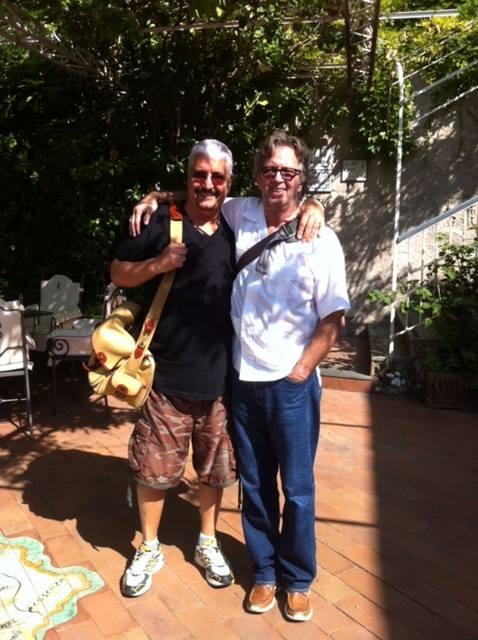 Pino Daniele, Eric Clapton gli rende omaggio con un brano