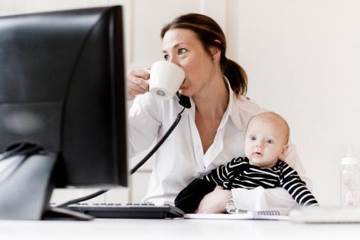 Mamme che lavorano...senza sensi di colpa