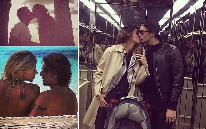 Selfie al bacio per le coppie dello showbiz