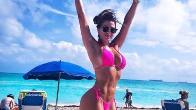 Rossana, la sexy nutrizionista
