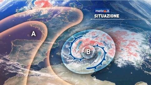 Meteo, l'inverno alza la voce: piogge e venti molto forti al Centrosud