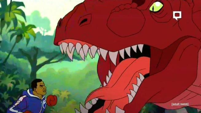 Mike tyson diventa un cartone animato nella serie