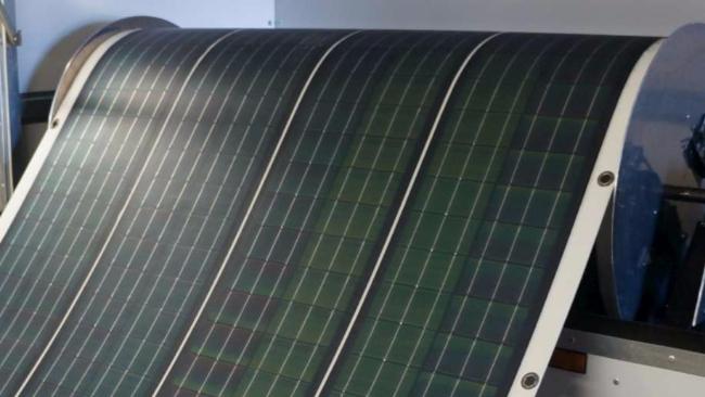 Un tappeto fotovoltaico arriva il primo pannello solare portatile e arrotolabile tgcom24 - Pannello fotovoltaico portatile ...