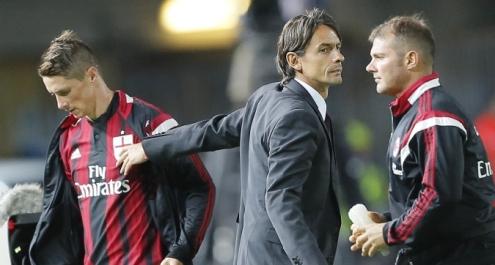 Milan: la difesa balla, ma Torres dà speranza a Inzaghi
