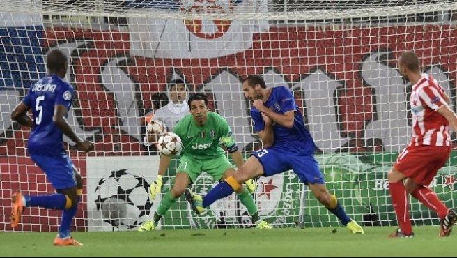 Juve, un pianto greco: sconfitta 1-0 dall'Olympiacos