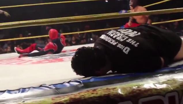Lutto nel wrestling: Aguayo muore sul ring colpito da Rey Mysterio jr