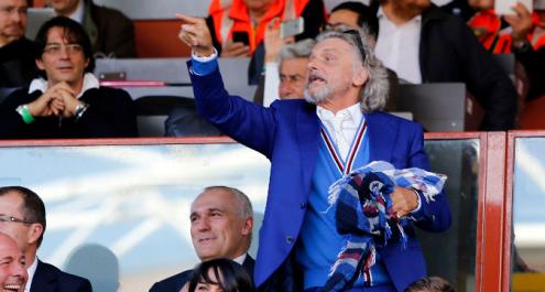 Sampdoria, Ferrero è una furia: