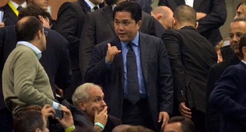 """Inter, Thohir: """"L'obiettivo è la Champions League"""""""