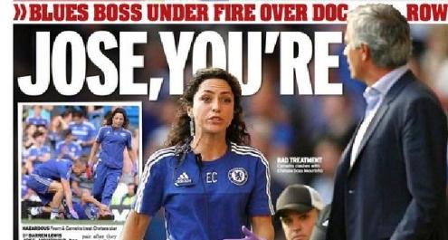 Chelsea, caso Carneiro: Mourinho sotto accusa