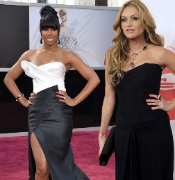 """Kelly Rowland e Paulina Rubio verso """"X Factor"""""""