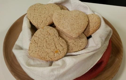 Biscotti al profumo di limone