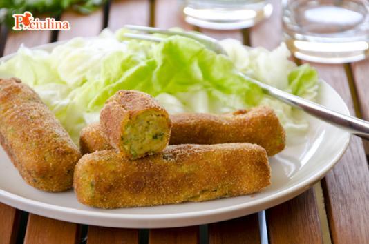 Maxi crocchette di zucchine e patate