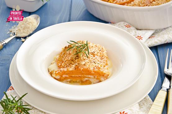 Parmigiana di zucca ricetta di pronto in tavola - Tgcom pronto in tavola ...