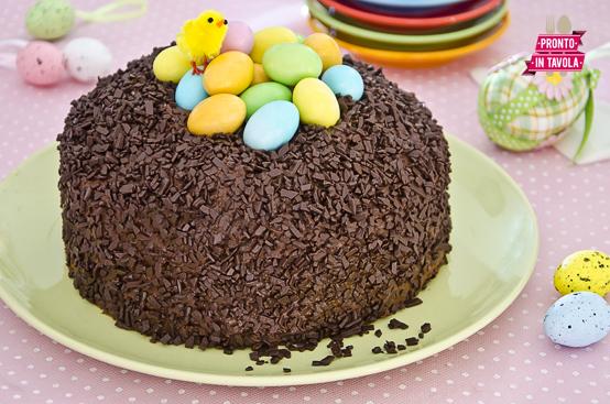 Torta nido di Pasqua