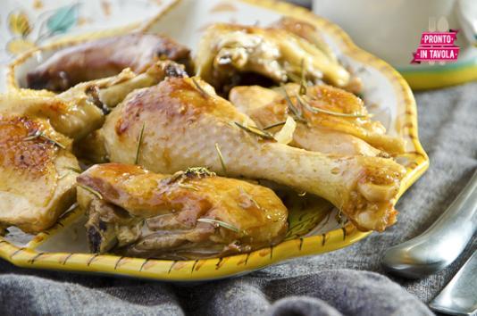 Pollo alla birra e rosmarino
