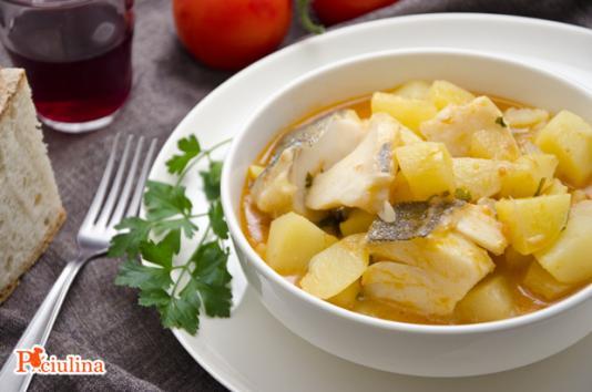 Zuppa di patate e baccalà