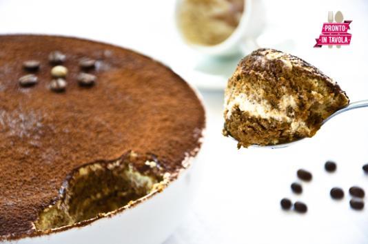 Torta di crema e caffè