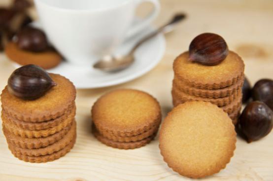 I Dolci di Alice: biscotti alle castagne