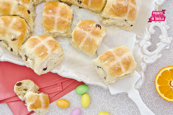 Hot cross buns (panini pasquali)
