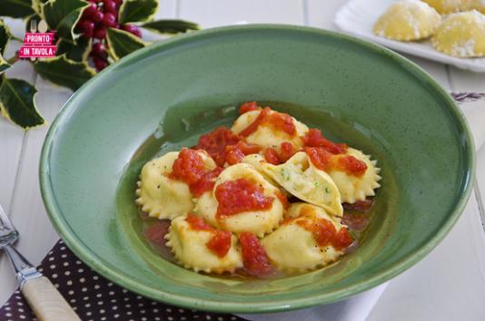 Ravioli mascarpone e patate