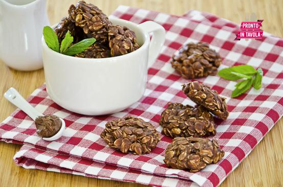 Biscotti alla Nutella e avena