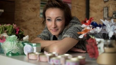 """Da psicologa del lavoro ad artigiana:  """"Contro la crisi? Riduci, ricicla, riusa"""""""