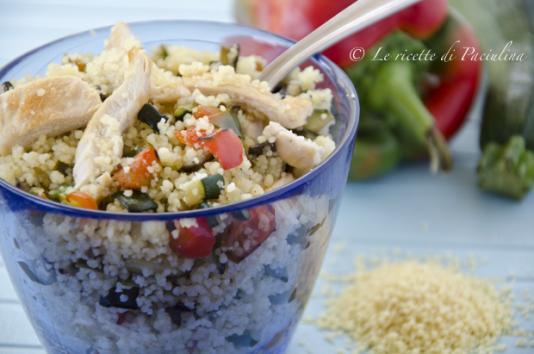 Couscous pollo e verdure