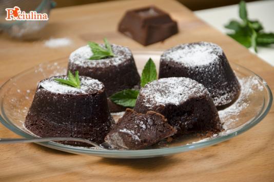 Tortini al cioccolato dal cuore morbido