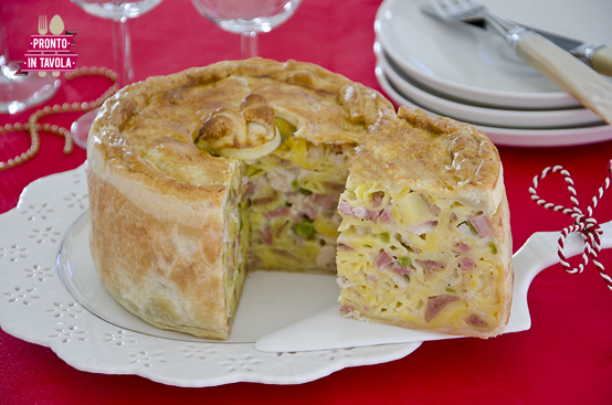 Timballo di tortellini ricetta di pronto in tavola - Ricette monica bianchessi pronto in tavola ...