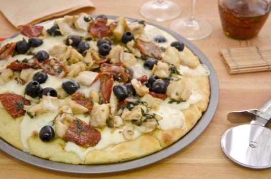 Pizza al baccalà