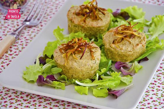 Sformatini di carciofi e patate