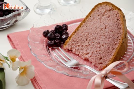 Torta rosa alle amarene