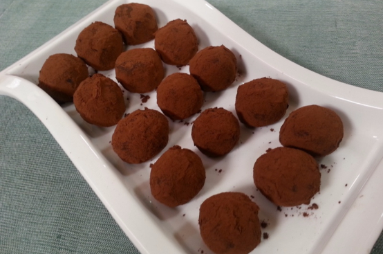 Biscotti tartufi al cioccolato