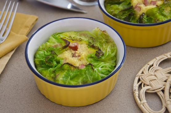 Timballini di verza e patate