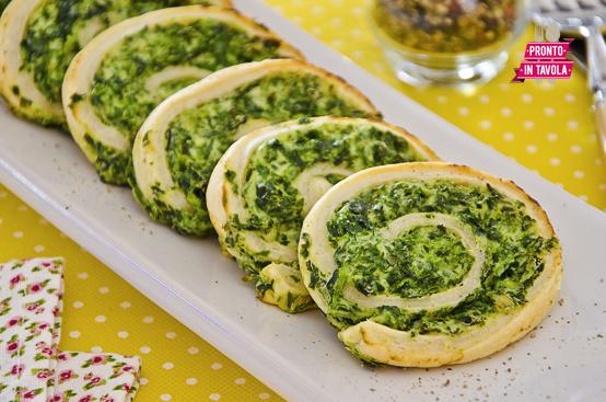 Girelle ricotta e spinaci ricetta di pronto in tavola - Tgcom pronto in tavola ...