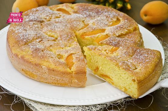 Torta di albicocche e yogurt ricetta di pronto in tavola - Ricette monica bianchessi pronto in tavola ...