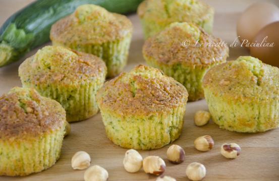 Muffin dolci alle zucchine ricetta di pronto in tavola - Ricette monica bianchessi pronto in tavola ...