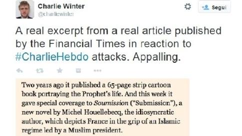 """Charlie, Ft shock: """"Giornalisti stupidi E' sbagliato provocare i musulmani"""""""