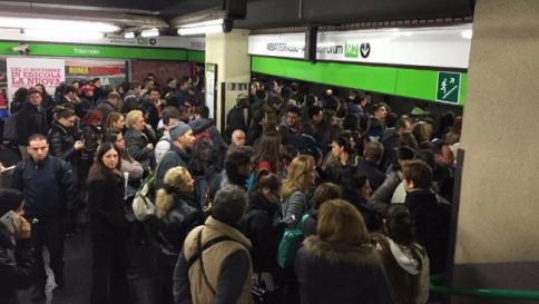I ladri di rame stavolta bloccano la metropolitana