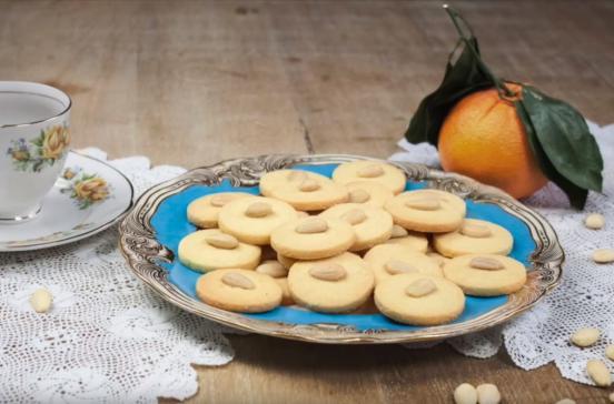 I dolci di alice biscotti alle mandorle e arancia - Pronto in tavola alice ...