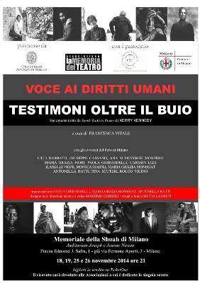Dalle aule dei tribunali al teatro, avvocati in scena per i diritti umani