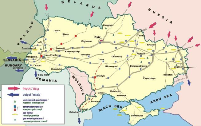Cartina Europa Crimea.Ucraina E Crimea La Mappa Tgcom24
