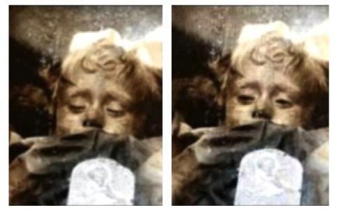 Rosalia, la mummia-bambina di Palermo apre gli occhi