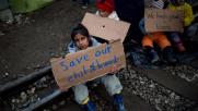 Migranti, i bimbi di Idomeni: vorremmo vedere la Germania