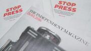 Independent, la fine di un'era: addio alle copie cartacee