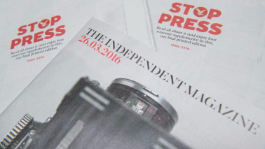Independent, la fine di un'era: addio alle copie cartacee