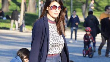 Ilaria D'Amico, mamma triste senza Gigi Buffon