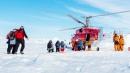 Nave russa intrappolata tra i ghiacci<br>Tutti salvi grazie all'elicottero cinese